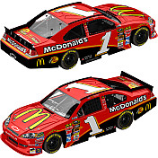 JAMIE MCMURRAY 1 MCDONALD'S FLASHCOAT SILVER 2011