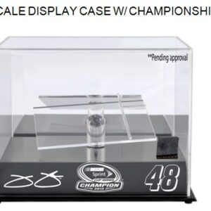 2013 Sprint Cup Championship Display Case / With a Piece of Tire