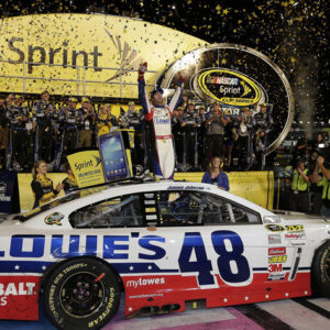 2013 Jimmie Johnson 48 Lowe's - NASCAR All-Star Win / Raced