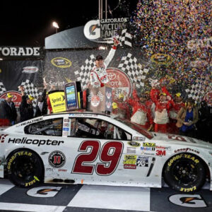 2013 Kevin Harvick 29 Bell Helicopter - Richmond Win / Raced.