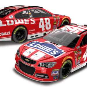 2014 Jimmie Johnson 48 Lowe's-Red Vest Diecast (May)