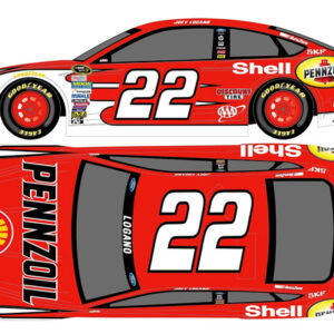 2015 Joey Logano #22 Shell-Pennzoil Red 1/64 Diecast