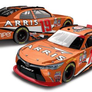 2016 Daniel Suarez #19 ARRIS - NASCAR xfinity Champ 1/64 Diecast
