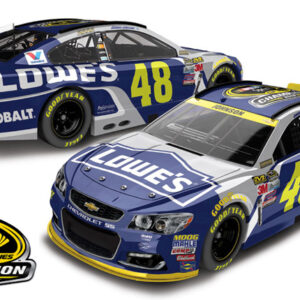 2016 Jimmie Johnson #48 Lowe's - NASCAR Sprint Cup Champ 1/64