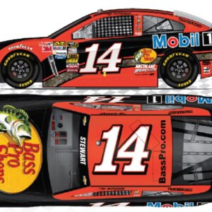 Tony Stewart 14 Bass Pro Shops Orange 2013.